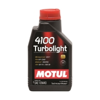 MOTUL 4100 Turbolight 10W40, 1л 108644