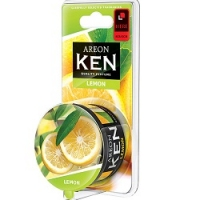 AREON KEN BLISTER Лимон (Lemon), 1шт AKB05
